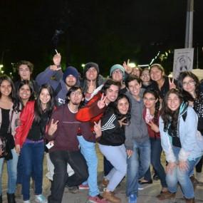 Bienvenida estudiantil chillán 2015