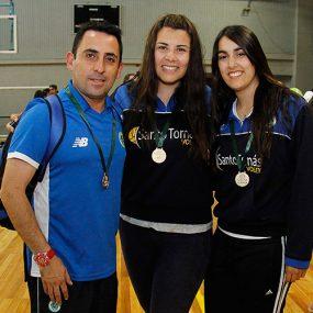 alejandro-marin-dt-joudie-gomez-fernanda-zuniga-voleibol-la-serena-1-lugar