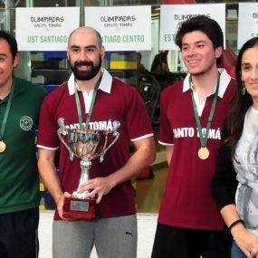 Campeones de tenis de mesa varones: Temuco