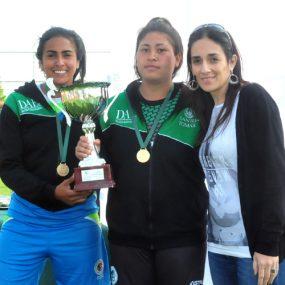 Campeonas de fútbol tenis damas: Iquique