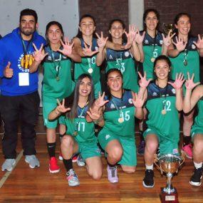 Campeonas de básquetbol damas: La Serena