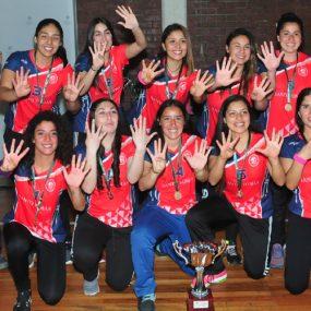 Campeonas de vóleibol damas: La Serena