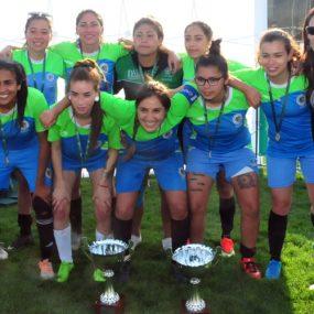 Campeonas de futbolito damas: Iquique